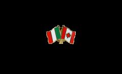 Freundschaftspin Italien - Kanada - 22 mm