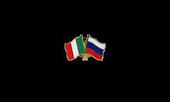 Freundschaftspin Italien - Russland - 22 mm