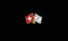 Freundschaftspin Schweiz - Argentinien - 22 mm