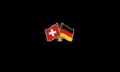 Freundschaftspin Schweiz - Deutschland - 22 mm
