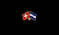 Freundschaftspin Schweiz - Honduras - 22 mm