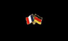 Freundschaftspin Frankreich - Deutschland - 22 mm