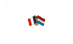 Freundschaftspin Frankreich - Luxemburg - 22 mm