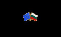 Freundschaftspin Europa - Bulgarien - 22 mm