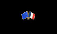 Freundschaftspin Europa - Frankreich - 22 mm