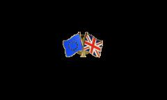 Freundschaftspin Europa - Großbritannien - 22 mm
