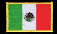 Aufnäher Mexiko - 8 x 6 cm