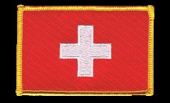 Aufnäher Schweiz - 8 x 6 cm