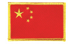 Aufnäher China - 8 x 6 cm