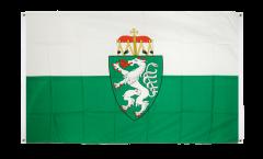 Balkonflagge Österreich Steiermark - 90 x 150 cm