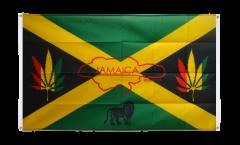 Balkonflagge Jamaika Reggae - 90 x 150 cm