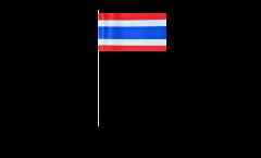 Papierfahnen Thailand - 12 x 24 cm