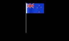 Papierfahnen Neuseeland - 12 x 24 cm
