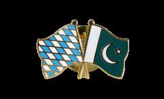 Freundschaftspin Bayern - Pakistan - 22 mm