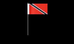 Papierfahnen Trinidad und Tobago - 12 x 24 cm