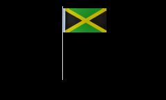 Papierfahnen Jamaika - 12 x 24 cm