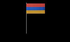 Papierfahnen Armenien - 12 x 24 cm