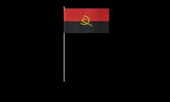 Papierfahnen Angola - 12 x 24 cm