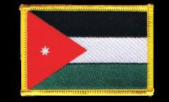 Aufnäher Jordanien - 8 x 6 cm