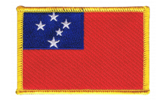 Aufnäher Samoa - 8 x 6 cm