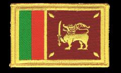 Aufnäher Sri Lanka - 8 x 6 cm