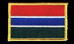 Aufnäher Gambia - 8 x 6 cm