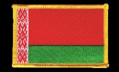 Aufnäher Weißrussland (Belarus) - 8 x 6 cm