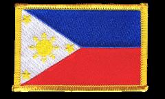 Aufnäher Philippinen - 8 x 6 cm