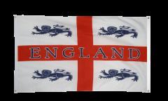 Balkonflagge England 4 Löwen - 90 x 150 cm