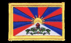 Aufnäher Tibet - 8 x 6 cm