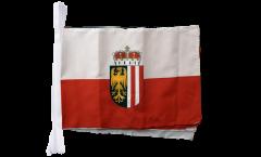 Fahnenkette Österreich Oberösterreich - 30 x 45 cm