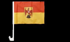 Autofahne Österreich Burgenland - 30 x 40 cm