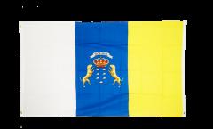 Balkonflagge Spanien Kanaren - 90 x 150 cm