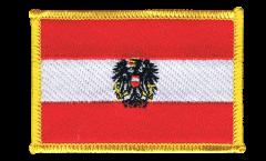 Aufnäher Österreich mit Adler - 8 x 6 cm