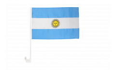 Autofahne Argentinien - 30 x 40 cm