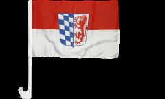 Autofahne Deutschland Niederbayern - 30 x 40 cm