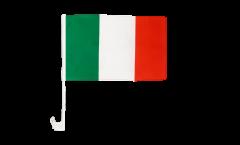 Autofahne Italien - 30 x 40 cm