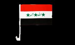 Autofahne Irak alt 1991-2004 - 30 x 40 cm
