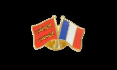 Freundschaftspin Basse Normandie - Frankreich - 22 mm