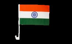Autofahne Indien - 30 x 40 cm