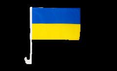 Autofahne Ukraine - 30 x 40 cm