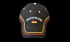 Cap / Kappe Deutschland schwarz, nation