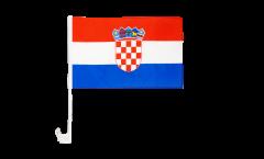 Autofahne Kroatien - 30 x 40 cm