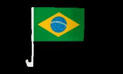 Autofahne Brasilien - 30 x 40 cm
