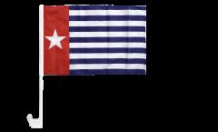 Autofahne West-Neuguinea / West-Papua - 30 x 40 cm