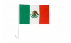 Autofahne Mexiko - 30 x 40 cm