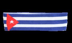 Stirnband Kuba - 6 x 21 cm