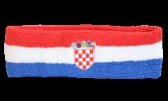 Stirnband Kroatien - 6 x 21 cm