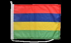 Bootsfahne Mauritius - 30 x 40 cm