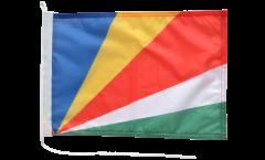 Bootsfahne Seychellen - 30 x 40 cm